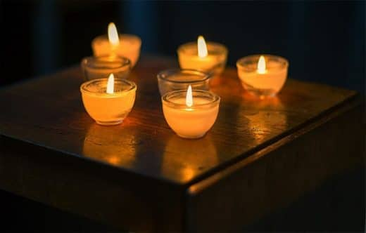 Bougies funérailles