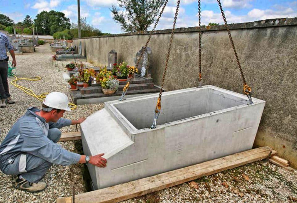 Construction Caveau Funeraire