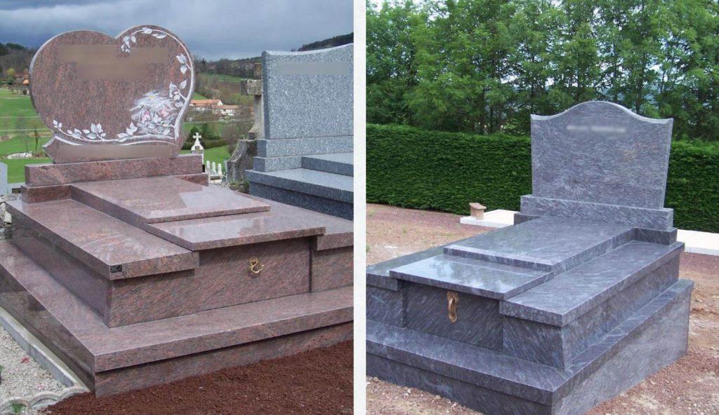 Monuments Funeraires Forme Coeur