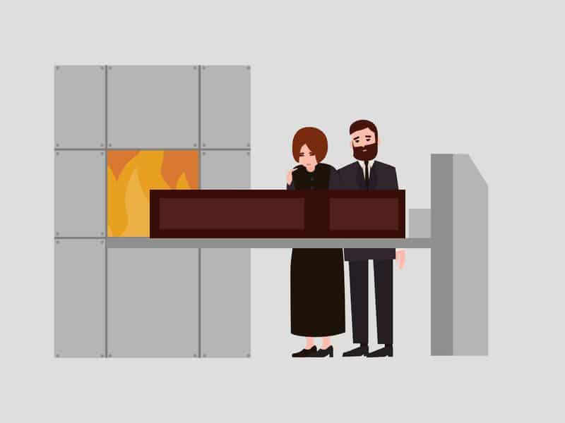 Cremation dessin