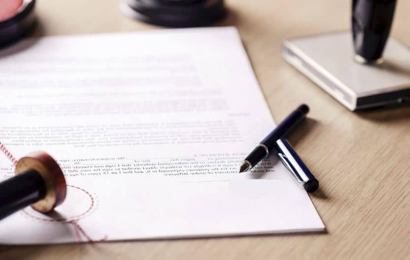 Lettre Declaration De Deces
